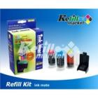 Refill kit Ink Mate Hp 28, 22, 57 Color  C6657,C8728,C9352 .